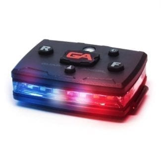 police shoulder light